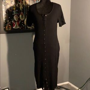 Torrid ribbed knit bodycon dress